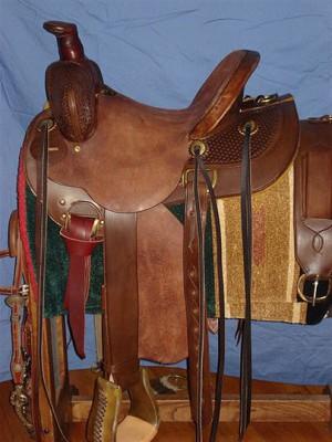 Jones Mule Rig - Saddle